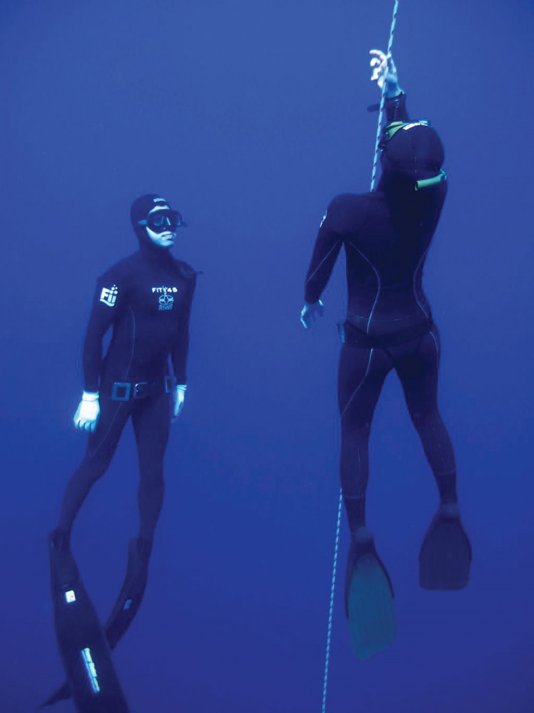Freediving in Aqaba