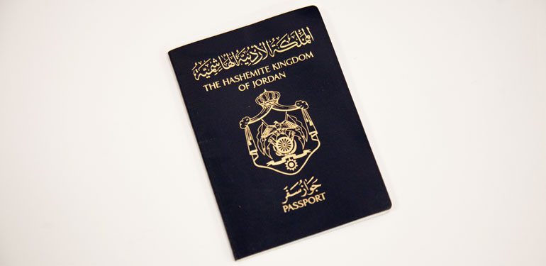 jordan passport visa free countries