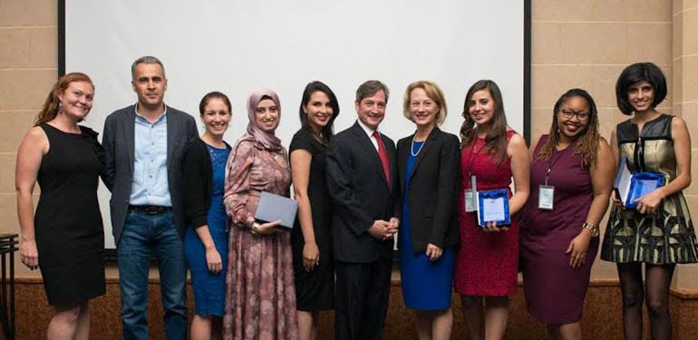 Oasis500, a leading seed stage investment and business accelerator, and the first of its kind in Jordan and the MENA region partnered recently with Open Hands initiative to support young women entrepreneurs, through a one week fellowship program in Amman with the participation of 20 women entrepreneurs from the USA and Jordan.