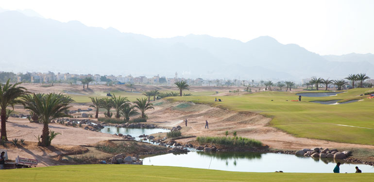 Ayla's Greg Norman-designed golf course