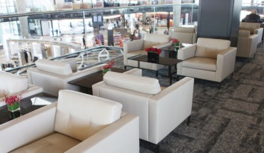 Royal Jordanian's Crown Lounge at Queen Alia International Airport