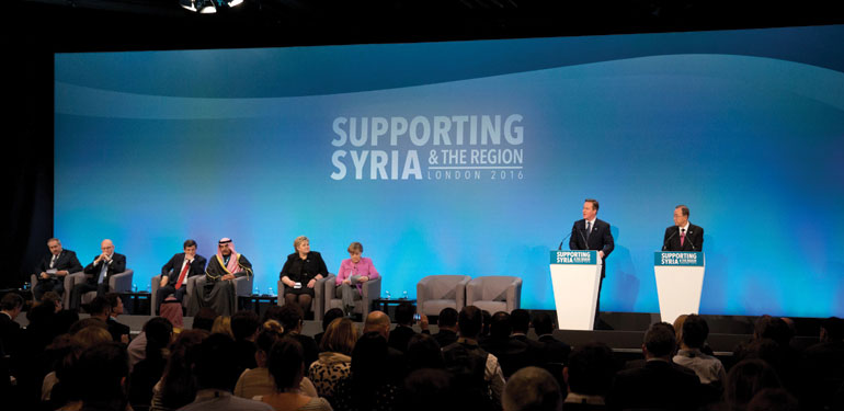 The London Conference for Syrian Refugees