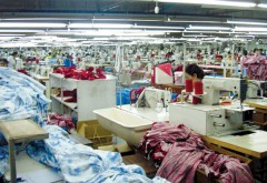 Textile factory workers