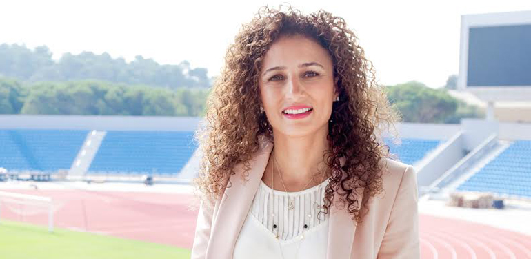 Samar Nassar, CEO of the local organizing committee of the FIFA U-17 Women's World Cup