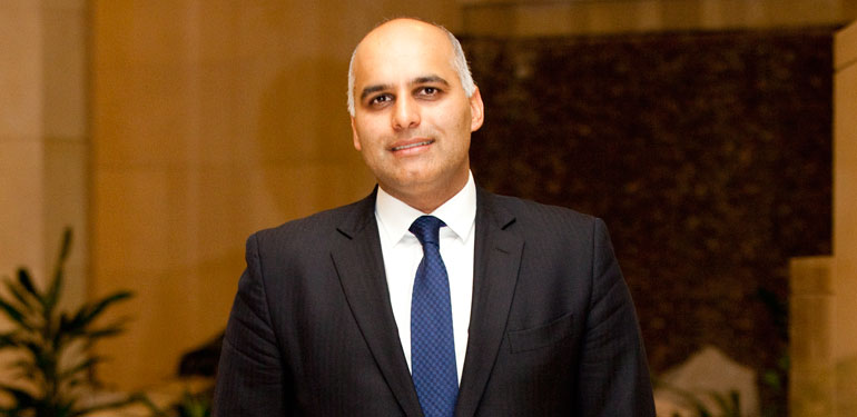 The US State Department's Special Representative for Commercial and Business Affairs Ziad Haider