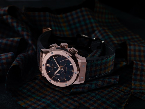 classic-fusion-chronograph-italia-independent-tartan by Hublot