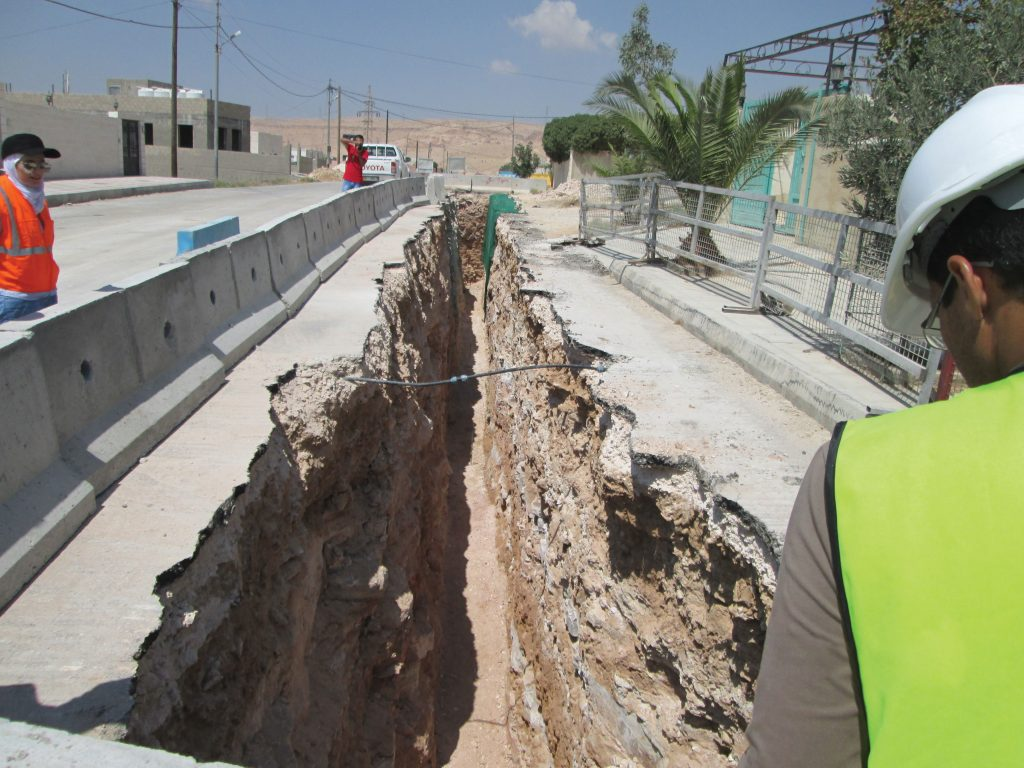 MCAs water and wastewater project in Zarqa